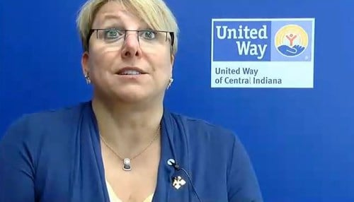 Ann Murtlow is the CEO of the United Way of Central Indiana.