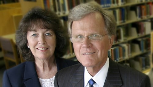 Paul and Pat Lingle have contributed to IU East since its inception in 1971.