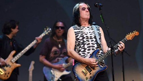 Todd Rundgren spoke at DePauw in 2009 as part of the Ubben Lecture Series.