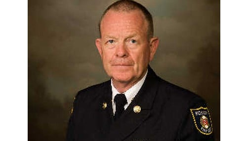 Richmond Fire Department Chief Jerry Purcell received the Fire Chief of the Year Award.