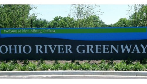 The Ohio River Greenway project will benefit from some of the funding. (Image courtesy of The Friends of the Ohio River Greenway)