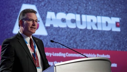 Accuride CEO Rick Dauch will continue to lead the company after the sale closes.