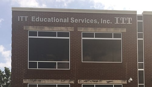 ITT Educational Services ceased operations in September.