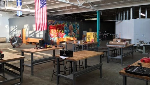 Riley Area Development Corp. says it will provide free access to the Ruckus makerspace to low-income entrepreneurs.