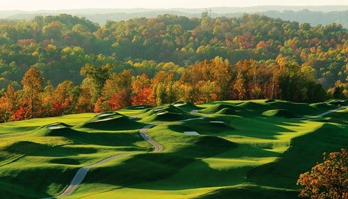 The Senior LPGA Championship will take place on the Pete Dye Course in French Lick.
