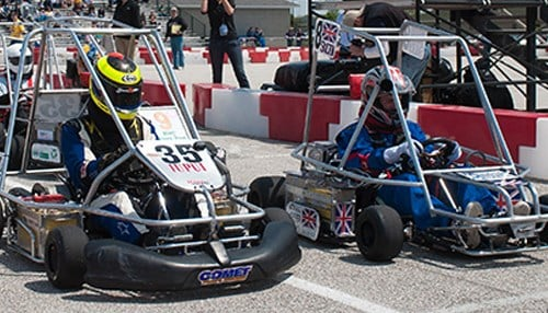The evGrandPrix is held each year at the Indianapolis Motor Speedway.