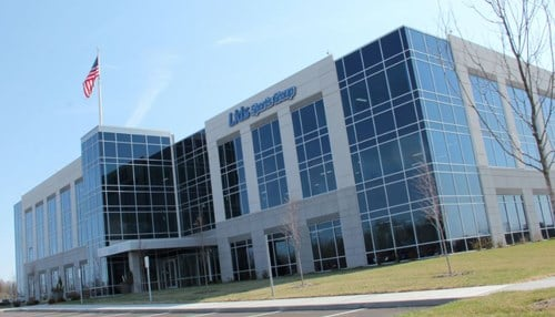 The building is located at Creekside Corporate Park in Zionsville.
