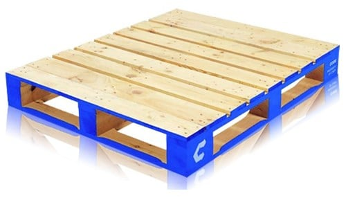 CHEP manufactures different types of pallets for a variety of industries.