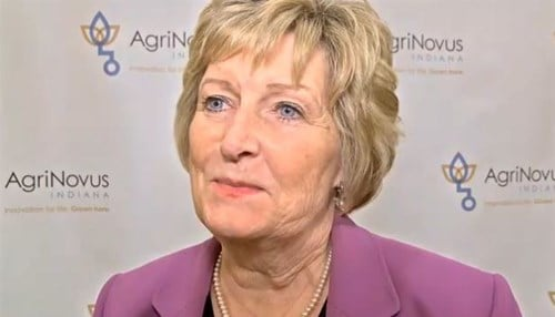 Sherilyn Emberton is also a member of the board of directors for AgriNovus Indiana.