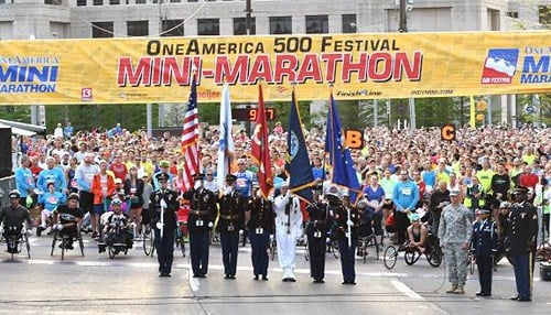 The event in Kosovo will take place the weekend before the Mini-Marathon in Indianapolis. (photo courtesy 500 Festival)