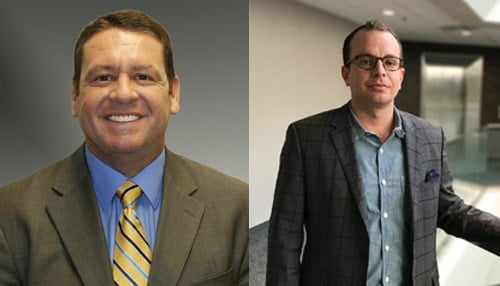 (L to R) Troy Woodruff and Brad Battin (photos courtesy RQAW)