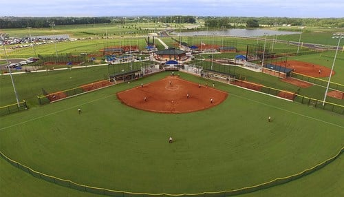 Every game will be played at Deaconess Sports Park in Evansville.