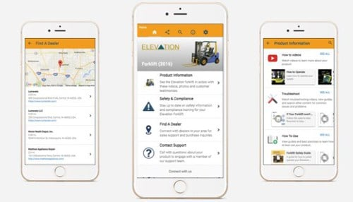 Lumavate provides mobile software solutions for manufacturers.