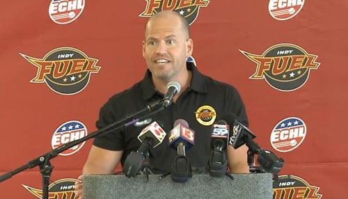 Sean Hallett is the co-owner and president/CEO of the Indy Fuel.