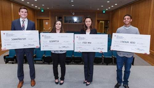 A project called Ecopatch won the top prize last year. (photo courtesy IUPUI)