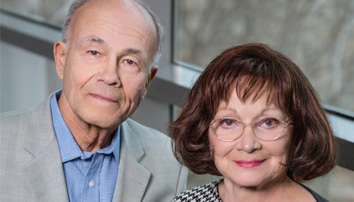 The Jewish Studies Program at IU was named after Robert and Sandra Borns in 1992. (photo courtesy Indiana University)