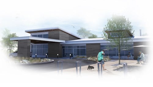 (Rendering of La Porte facility provided by Miller's Health Systems.)