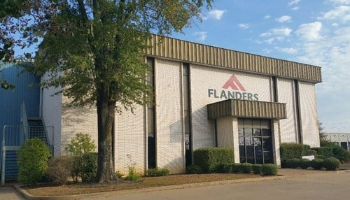 FLANDERS repairs large electric engines for customers in the mining industy.