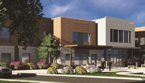 An Elevate Office Suites located is also currently under construction in Brownsburg.