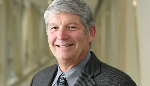 (Image courtesy of Indiana University.) Mark Kelley has three decades of experience as a cancer researcher.