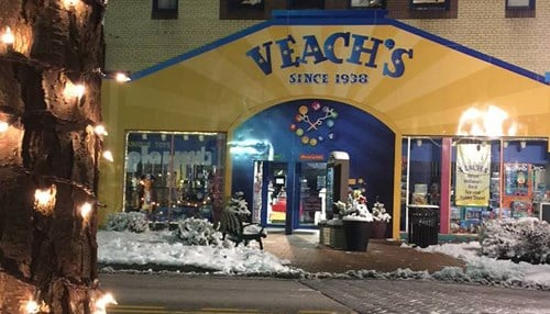 Veach's Toy Station first opened in Richmond in 1938.