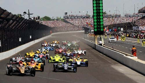 Last year's Indy 500 was the first official sellout in IMS history. (photo courtesy Indianapolis Motor Speedway)