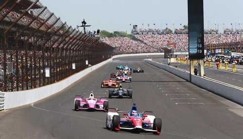 (Image courtesy of the Indianapolis Motor Speedway)