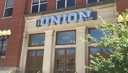 Costello is headquartered inside The Union 525 in downtown Indianapolis.