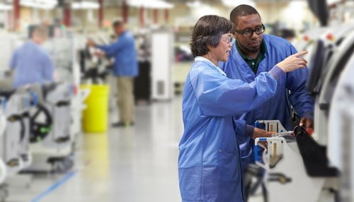 Harris Corp. employs nearly 500 at its Fort Wayne facility.