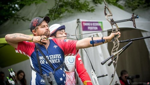 Five-time Olympic medalist Brady Ellison will participate in the tournament. (photo courtesy USA Archery)