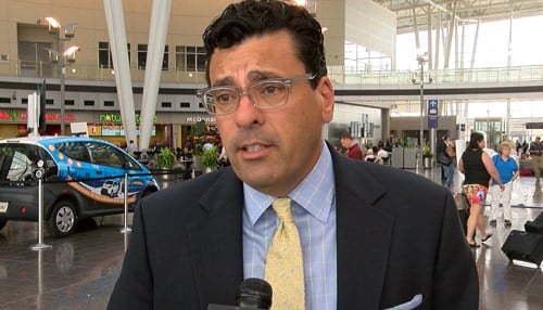 Mario Rodriguez is executive director of the Indianapolis Airport Authority.