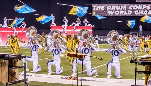 (photo courtesy Drum Corps International)