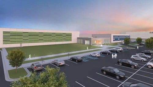 (Sportsplex And Community Center rendering provided by the city of Hammond)