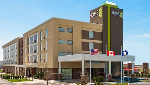 (rendering courtesy Home2 Suites)