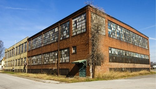 The building has been vacant since 1977. (file photo courtesy Denton Floyd Real Estate Group)