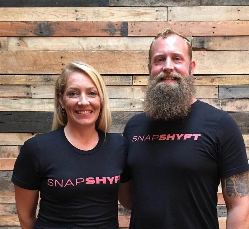 Stephanie Corliss and Thor Wood launched SnapShyft in 2016 after winning the inaugural Indy Startup Challenge.