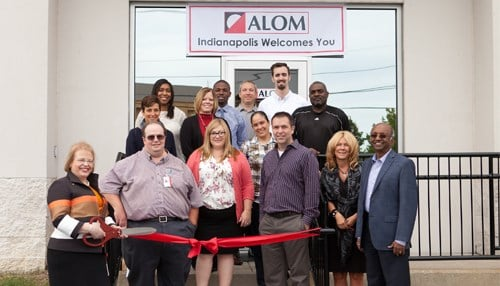 Officials cut the ribbon on the facility Wednesday. (photo courtesy ALOM)