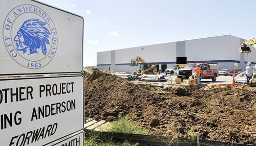Sirmax began construction on the facility in 2015. (file photo courtesy The Herald Bulletin)