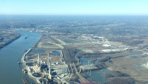 The location in Dearborn County could serve as the state's fourth port. (Image courtesy of the Ports of Indiana)