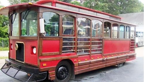 The group says it hopes to add more TED trolleys in the future.