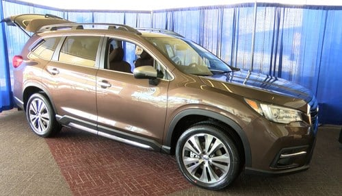 Four vehicles, including the new Ascent, are produced at Subaru of Indiana Automotive Inc.
