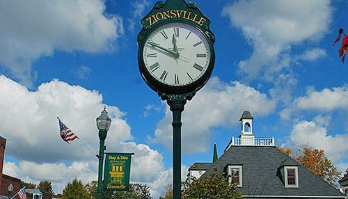 (Image courtesy of the city of Zionsville.)
