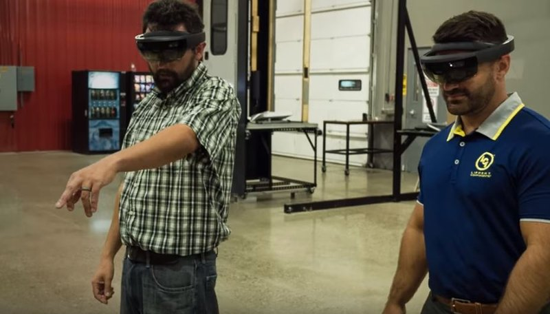 """The technology uses a Microsoft HoloLens to """"see"""" the components before prototypes are manufactured."""