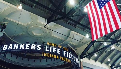 The Hidden Heroes Lunch will take place at Bankers Life Fieldhouse. (Image courtesy of Bankers Life Fieldhouse.)