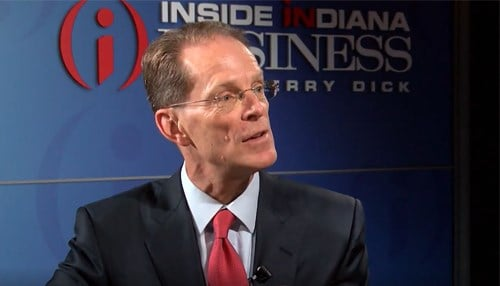 Geoffrey Mearns was named Ball State's president in 2017.