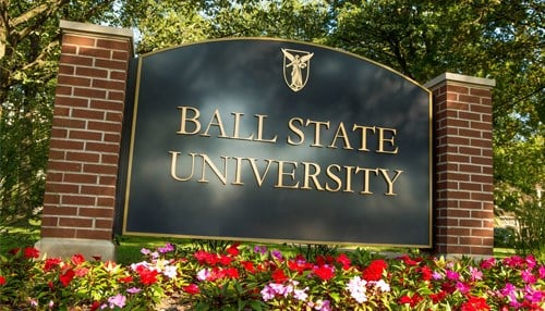 The ICI is located at the Miller College of Business at Ball State. (photo courtesy Ball State University)