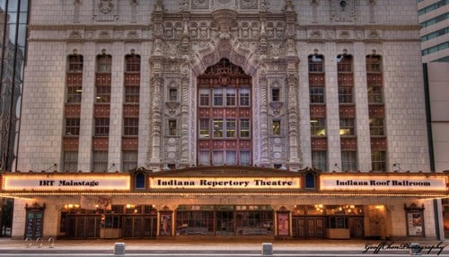IRT opened in 1972 and has welcomed nearly five million people since then. (photo courtesy Indiana Repertory Theatre)