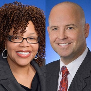 Michelle Trowell and Shawn Williams