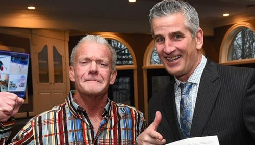 (Image of Colts owner Jim Irsay and new head coach Frank Reich courtesy of the Indianapolis Colts.)