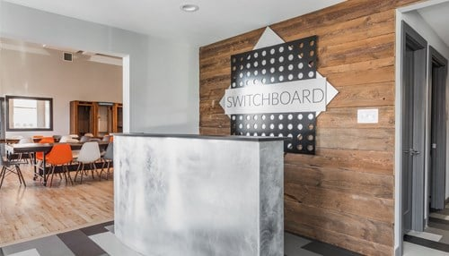The company is relocating to the Switchboard coworking space in Fountain Square. (photo courtesy Switchboard)
